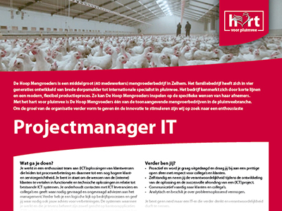 Projectmanager IT gezocht!
